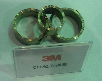 3M接地用恒力弹簧CFS P61 3M Constant Force Springs